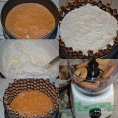 Cheesecake cu mascarpone Dessert Recipes, Desserts, Hummus, Cheesecake, Ethnic Recipes, Food, Mascarpone, Tailgate Desserts, Cheesecake Cake