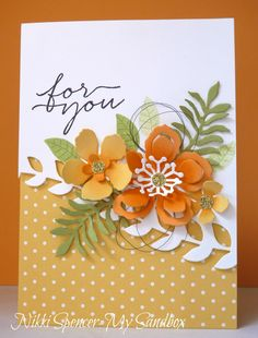 "Nikki Spencer-My Sandbox: Stamp Review Crew...""Botanical Blooms"" Edition! #botanicalblooms #peekaboopeach #stampinup"