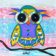 IGGY owl - available