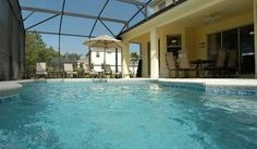 5* FLORIDA VILLA with SW facing pool with salt water system | Direct Villas Florida ID1117