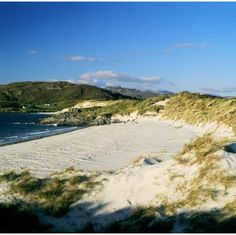 """Camusdarach beach, near Morar, Scotland. Pinned via Easyways Walking - can't believe someone beat us to """"easyways""""; that was Andrew's idea! Camping Scotland, Scotland Travel, Scotland Beach, North Scotland, Scotland People, Inverness Shire, Scottish Islands, Camping Spots, Roadtrip"""