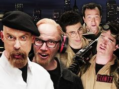 Ghostbusters VS Mythbusters Rap Battle - http://stash-magazine.com/videos/ghostbusters-vs-mythbusters-rap-battle/