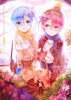 Re:Zero Kara Hajimeru Isekai Seikatsu (Re:zero − Starting Life In Another World) Mobile Wallpaper - Zerochan Anime Image Board Lolis Anime, Moe Anime, Anime Art, Pretty Anime Girl, I Love Anime, Girls Anime, Kawaii Anime Girl, Ram And Rem, Re Zero Rem