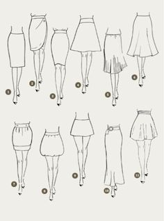 Skirt design drawing fashion sketches 68 New Ideas