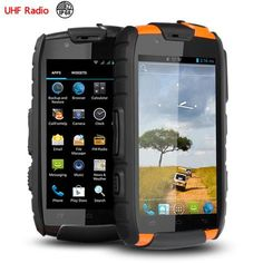 phone microphone on sale at reasonable prices, buy rugged Waterproof phone Shockproof Android Dual sim VHF Radio phone Walkie talkie UHF GPS NFC CE FCC from mobile site on Aliexpress Now! Radios, Phone Microphone, 17 Kpop, New Technology Gadgets, Android Codes, 3d Modelle, Cool Tech Gadgets, Waterproof Phone, Cheap Phones