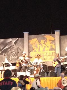 Henry Saint Clair Fredericks, better known as Taj Mahal - in the Blues Tent at JazzFest 2012.
