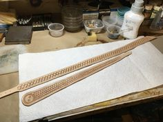 Suspenders in the making