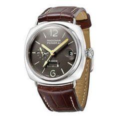 Panerai Platinum Radiomir 8-Days GMT Wristwatch PAM 201