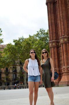 Barcelona # Spain # sisters # love # sun
