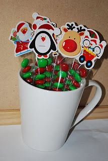 Sew Very Simple: Christmas Treat Tubes