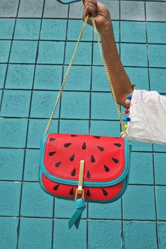 Watermelon Mini Saddle Bag    summer just got so much sweeter Watermelon  Purse f1097c2ff2a70