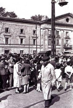 The Warsaw Ghetto.