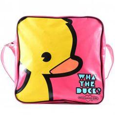NewBreed Girl Wha' The Duck Messenger Bag image 1