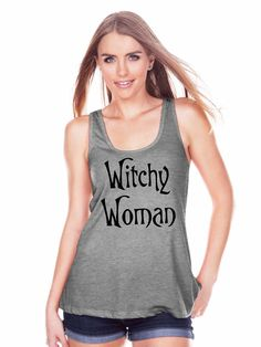 7 ate 9 Apparel Womens Witchy Woman Halloween Tank Top