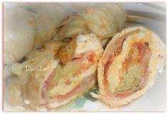 Involtini di pollo con pancetta e carciofi