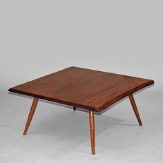 Square Coffee Table by George  Nakashima