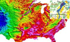 Stunning new images reveal the giant rift under the Midwest