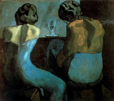 Prostitutes in a Bar 1902 - Pablo Picasso