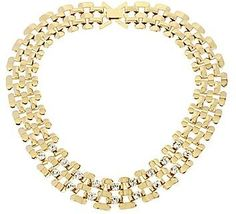 jcpenney Worthington Gold-Tone Crystal Link Collar Necklace on shopstyle.com