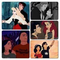Punk Disney couples