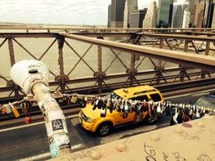 Love is on Brooklyn bridge