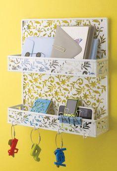 Design Ideas Vinea Spice Rack, White,