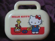 Vintage 1976 Hello Kitty Sanrio Travel Soap Dish