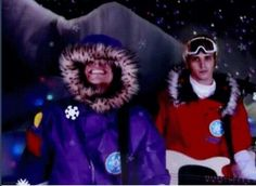 Awww frank looks so cute and wait IS THAT AN almost SMILE FROM MIKEY !!!!