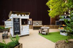 Hire a kids cubby house and play space for your wedding or event in Melbourne.