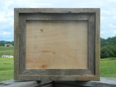 "8""x10"" Rustic Picture Frame, Repurposed on Etsy, $25.00"