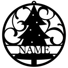 Welcome to the Silhouette Design Store, your source for craft machine cut files, fonts, SVGs, and other digital content for use with the Silhouette CAMEO® and other electronic cutting machines. Christmas Name Tags, Personalized Christmas Ornaments, Christmas Tree Ornaments, Christmas Glasses, Christmas Tree Design, Christmas Wood, Christmas Projects, Xmas, Illustration Noel