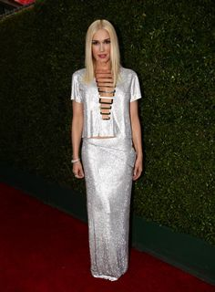 Gwen Stefani ain't looking like no holla back girl as she shines on the red carpet at the 66th Primetime Emmy Awards on Aug. 25 in Los Angeles