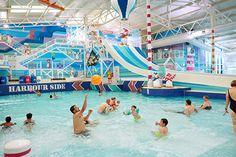 Refurbished indoor pool at Hafan y Môr