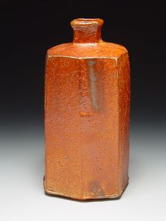 Lisa Hammond - red shino bottle