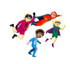 Superhjälparna | Material Mario, Fictional Characters, Photo Illustration, Fantasy Characters