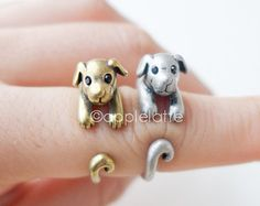 dog ring, puppy ring size 5 ~ 9 us