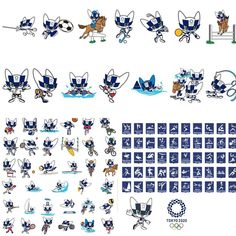 Image may contain: text Olympic Logo, Olympic Mascots, Olympic Sports, Olympic Games, 2020 Summer Olympics, Tokyo Olympics, Character Drawing, Character Design, Estilo Anime