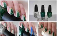 DIY Christmas Nail Art - Find Fun Art Projects to Do at Home and Arts and Crafts Ideas