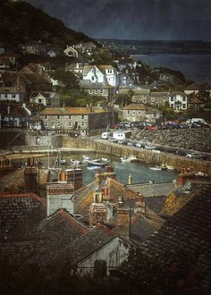 Mousehole, Cornwall by Nigel Hopes  have had some lovely holidays here, in the company of G, in the happy years gone by, nothing the same without you M