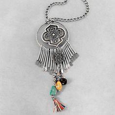 Bohemian Pendant Necklace por NovaaStyle en Etsy