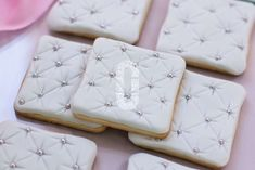 Decorated cookies at a Cinderella birthday party! See more party ideas at CatchMyParty.com!