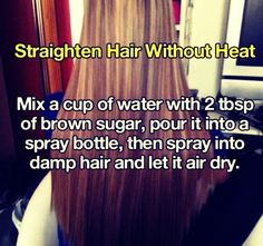 How to Get Heatlesss Straight Hair! Please like and save! Thank you!