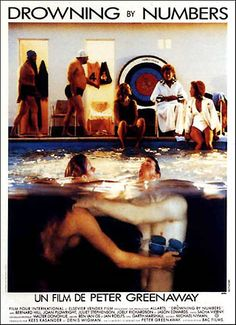 Drowning by Numbers is a 1988 British-Dutch film directed by Peter Greenaway. It won the award for Best Artistic Contribution at the Cannes Film Festival of 1988 Joan Plowright, Recent Movies, All Movies, Cinema Posters, Film Posters, Cannes, Juliet Stevenson, Lars Von Trier, Image Film