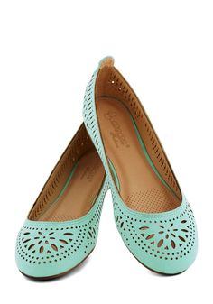 Fancy flats from Mod Cloth