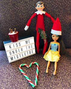 I think we all know where this is going. The Elf, Elf On The Shelf, Under The Mistletoe, December, Holiday Decor, Kids, Instagram, Young Children, Children