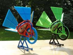 THIS SOLAR-POWERED ENGINE CAN BE MADE WITH A 3D PRINTER.  SUNNY WITH A CHANCE OF RENEWABLE ENERGY.