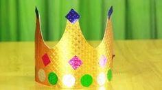 kings crown tutorial - YouTube