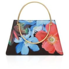 Ted Baker Forget Me Not Metal Handle Clutch