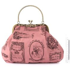 Adorable pink purse.