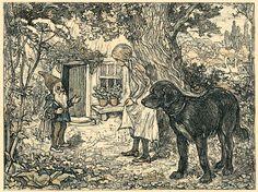 Litho van Edz. Koning uit Ella in het Feeënrijk (1902)